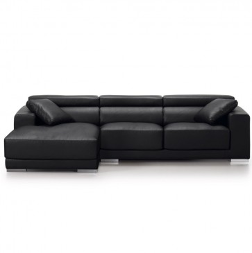 SOFA SINGAPORE 3-SEATER CHL BLACK