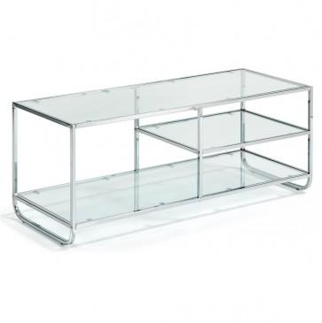 STOLIK TELEWIZYJNY GLYNN CLEAR GLASS LA FORMA
