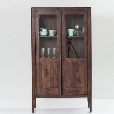 SZAFA WITRYNA BROOKLYN WALNUT DISPLAY KARE DESIGN