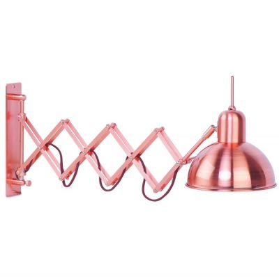 ABERDEEN COPPER WALL LAMP ITS ABOUT ROMI