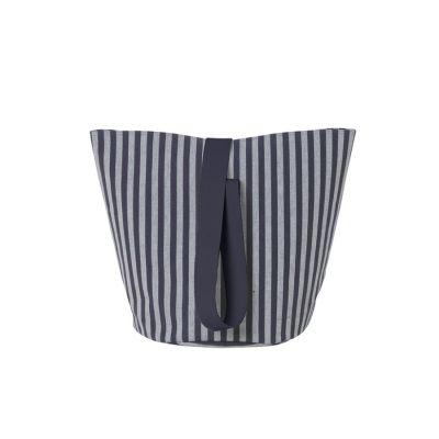 Chambray Basket Striped Small Ferm Living