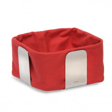 BREAD BASKET RED 19.5CM BLOMUS