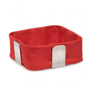 BREAD BASKET RED 25.5CM BLOMUS