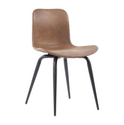 LANGUE Avantgarde leather chair Norr 11