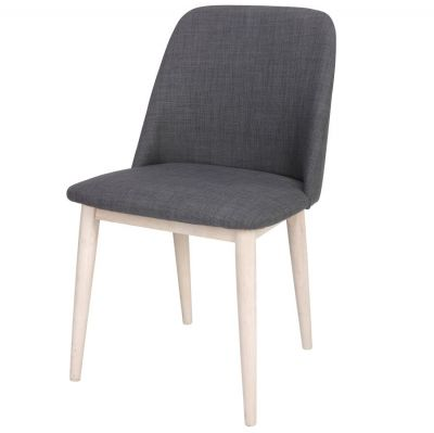 UPHOLSTERED CHAIR SEGAL GREY
