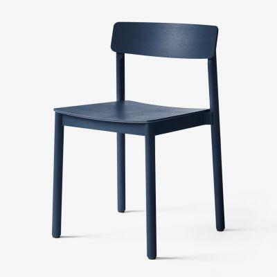 Krzesło Betty TK2 niebieskie Andtradition