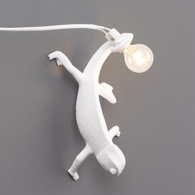 LAMPA Chameleon Going Down SELETTI