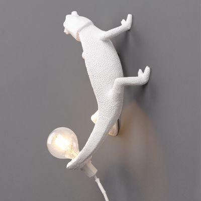 LAMPA Chameleon Going Up SELETTI