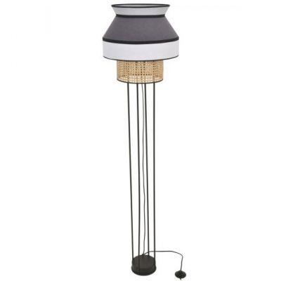 SINGAPOUR blanc anthracite&gris clair floor lamp Market Set
