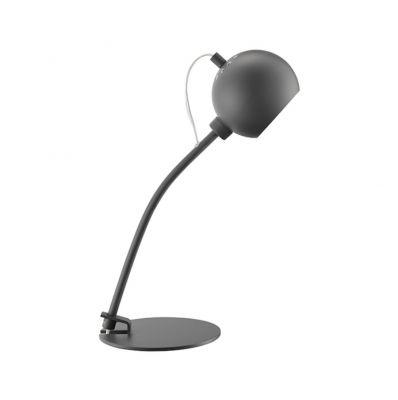 LAMPA STOŁOWA BALL G9 SZARA FRANDSEN