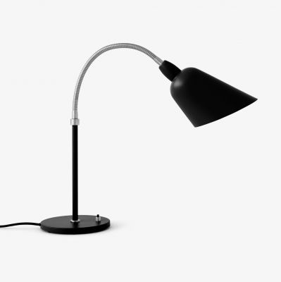 Lampa stołowa Bellevue AJ8 Black & Steel ANDTRADITION