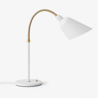 Lampa stołowa Bellevue AJ8 white&brass Andtradition
