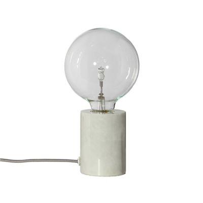 LAMPA STOŁOWA BRISTOL MARMUR BIAŁA FRANDSEN