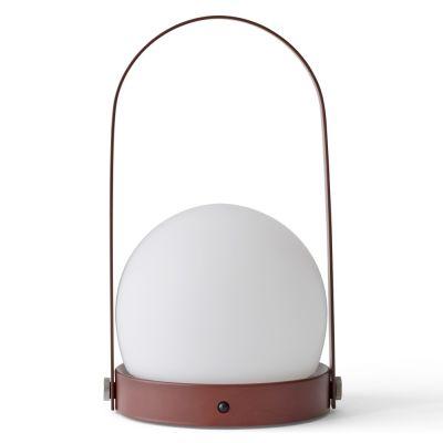 Lampa stołowa Carrie LED CZERWONA MENU