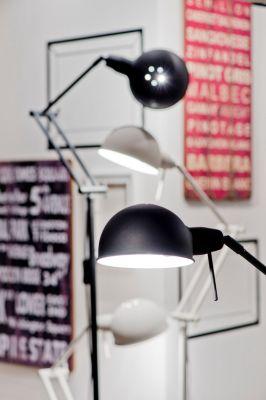 LAMPA STOŁOWA GLASGOW CZARNA ITS ABOUT ROMI