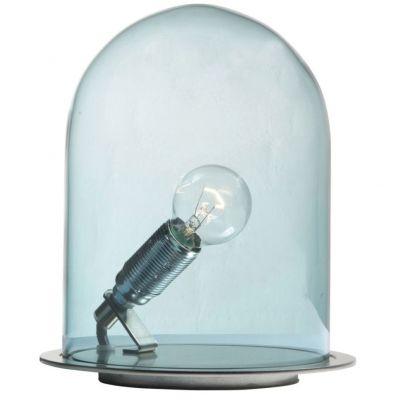 LAMPA STO£OWA GLOW IN A DOME 21 CM NIEBIESKA EBB&FLOW