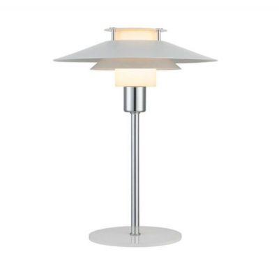 LAMPA STO£OWA GOSPEL 24 CM BIA£A-CHROM