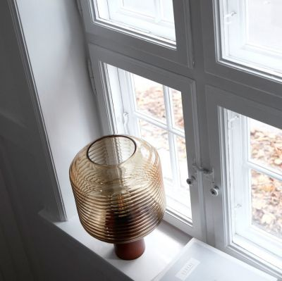 LAMPA STOŁOWA HONEY BURSZTYNOWA FRANDSEN