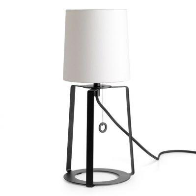 HOOD TABLE LAMP WHITE