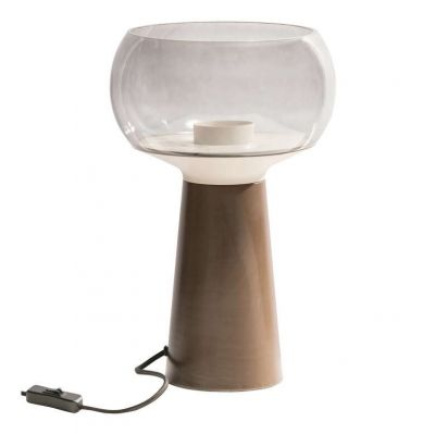LAMPA STOŁOWA MUSHROOM 37x24 cm BE PURE