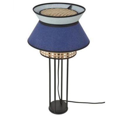 SINGAPOUR Indigo&Amande table lamp Market Set