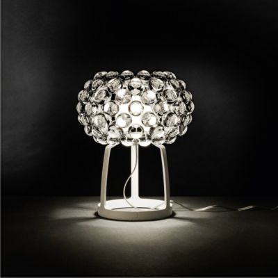 LAMPA STOŁOWA CABOCHE transparentna FOSCARINI