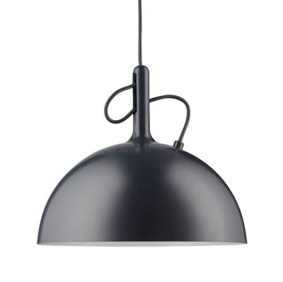 ADJUSTABLE LARGE BLACK PENDANT LAMP WATT A LAMP