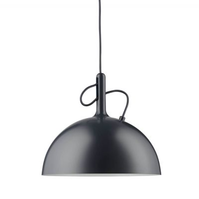 ADJUSTABLE SMALL BLACK PENDANT LAMP WATT A LAMP