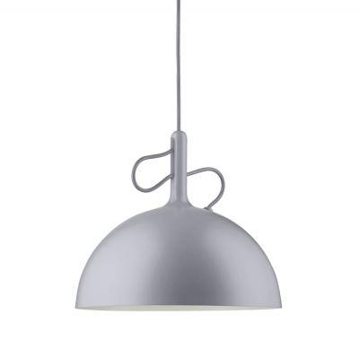 ADJUSTABLE SMALL GREY PENDANT LAMP WATT A LAMP