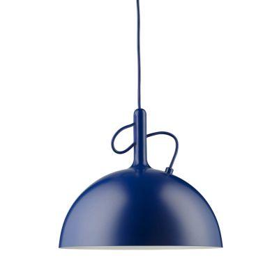 ADJUSTABLE SMALL BLUE PENDANT LAMP WATT A LAMP