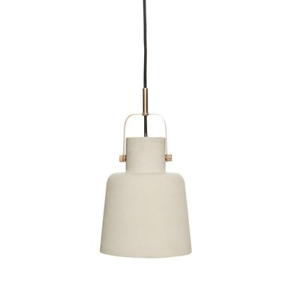LAMPA WISZ¡CA BETONOWA HUbsch