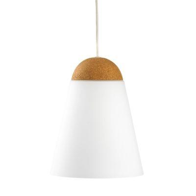 LAMPA WISZ¡CA Bell-A bia³a korek