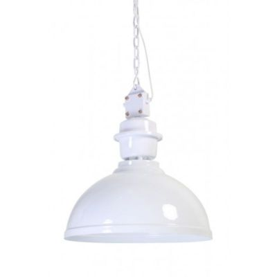 LAMPA WISZ¡CA CLINTON 52 CM BIA£A LIGHT&LIVING