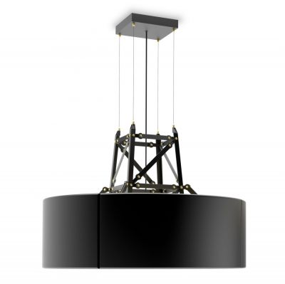 LAMPA WISZĄCA CONSTRUCTION CZARNA MOOOI