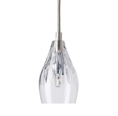 HANGING LAMP CRYSTAL GAYLE SILVER EBB & FLOW