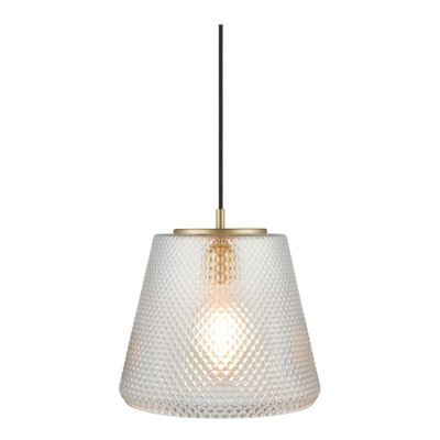 DAMN FASHIONISTA CLEAR LARGE PENDANT LAMP WATT A LAMP