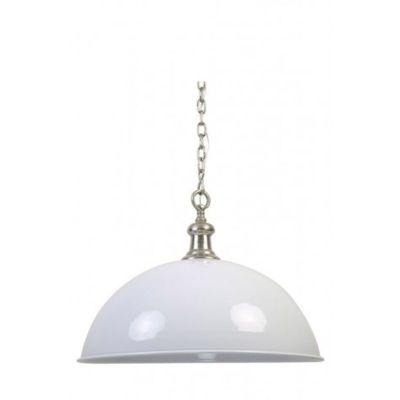 LAMPA WISZ¡CA DEMI 72X51 CM BIA£A LIGHT&LIVING