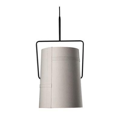 FORK GRANDE IVORY WITH BROWN STEEL PENDANT LAMP DIESEL&FOSCARINI