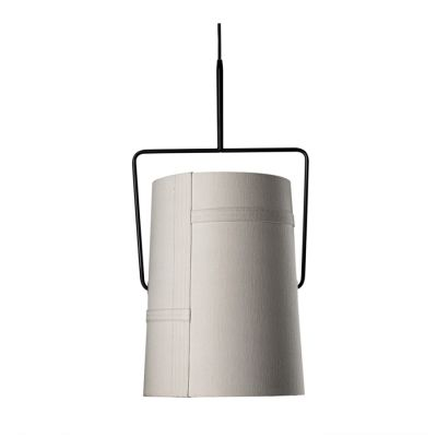 FORK PICCOLA PENDANT LAMP IVORY WITH BROWN BASE DIESEL&FOSCARINI