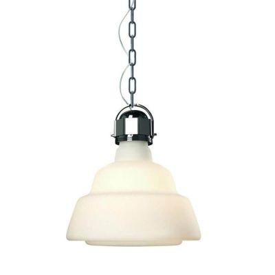 LAMPA WISZ¡CA GLAS GRANDE BIA£A DIESEL&FOSCARINI