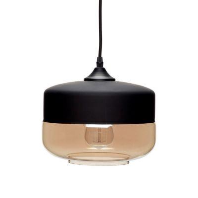 LAMPA WISZ¡CA GLASS 25 CM HUbsch