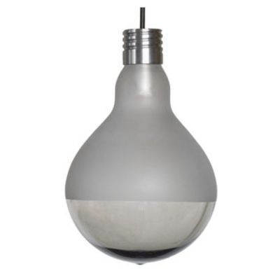 MAKEUP FROSTED-CLEAR PENDANT LAMP OUTDOOR 17,5X25 CM KARMAN