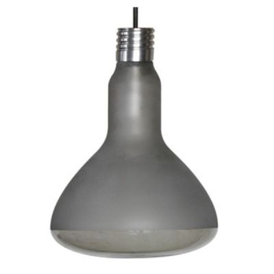 MAKEUP FROSTED-CLEAR PENDANT LAMP 17.5X25 CM KARMAN