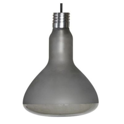 MAKEUP FROSTED-SMOKED PENDANT LAMP 17.5X25 CM OUTDOOR KARMAN