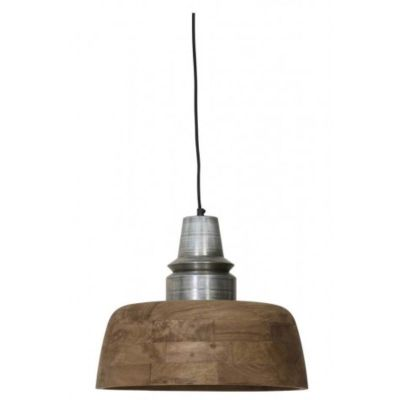 LAMPA WISZ¡CA MARGA 40X33 CM ANTYCZNE SREBRO LIGHT&LIVING