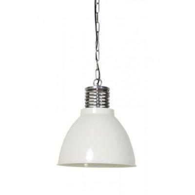 LAMPA WISZ¡CA MEGAN 32X35 CM BIA£A LIGHT&LIVING
