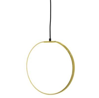 LAMPA WISZĄCA OBRĘCZ GOLD BLOOMINGVILLE
