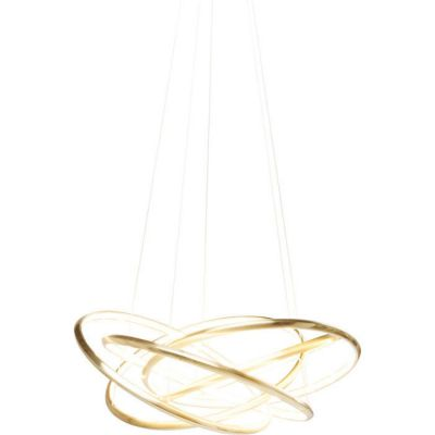 LAMPA WISZ¡CA Saturn LED Gold Big KARE DESIGN