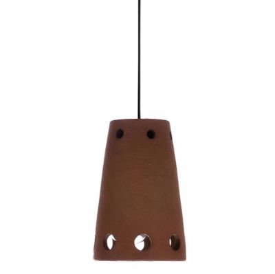 LAMPA WISZ¡CA Z TERAKOTY 10x15.5 cm HKliving