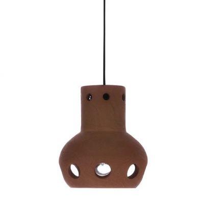 LAMPA WISZ¡CA Z TERAKOTY 13x15 cm HKliving
